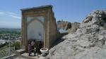Osh - dargah en la cima del Trono de Salomon. Lugar sagrado para los kirguizos