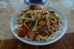 La pasta uigur. Giro-lagman. Predecesora de la pasta que hoy se come en Italia y el resto del mundo.