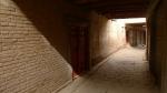 Luz y sombra en las calles de la ciudad vieja de Kashgar
