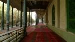 Sala hipostila de la gran mezquita de Kashgar