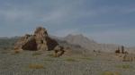 Estupa budista siglo IV. Cerca de Kucha