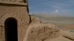 Ciudad caravanera abandonada cerca de Kucha