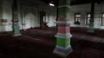 Interior de la mezquita de Kucha
