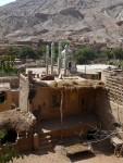 Mezquita uigur en aldea-oasis