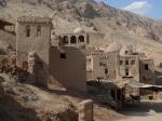 Aldea-oasis en las proximidades de Turfan