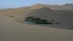 Dunas de Dunhuang. El lago de la media luna. Subir aqui casi nos cuesta una multa de 50 euros. Are you foreigner, please don t climb to the dunes!!!