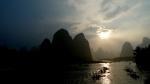 El rio Li y su paisaje de fantasía.