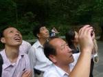 Turistas chinos alucinando en Wuillingyuan, no es para menos.