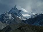 Nieves perpetuas en la cima del monte Xuebaoding