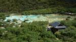 Piscinas naturales en el valle de Huanglong