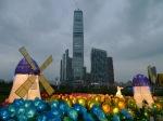 El elements de hong kong y decoracion 60 aniversario revolucion
