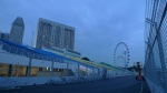 El circuito urbano de F1, junto a la Marina