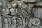 Relieve en Borobudur