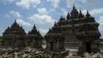 Templos gemelos en Prambanam