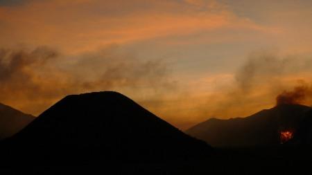 ¿Mordor, morada de Sauron? o la caldera del Tengger