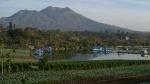 Gunung Batrur desde el lago de la caldera