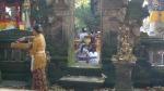 Dia de festividad en Ubud