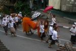 Ambiente festivalero en Ubud
