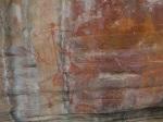 Arte aborigen en Kakadu