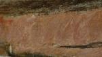 Arte aborigen en los acantilados de Ubir (Kakadu)