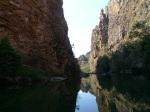 La garganta que hace de desaguadero de las Jim jim Falls (Kakadu)