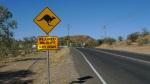 La señal de tráfico mas característica de Australia