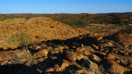 El paisaje que rodea Alice Springs