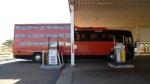 Extraño autobús híbrido
