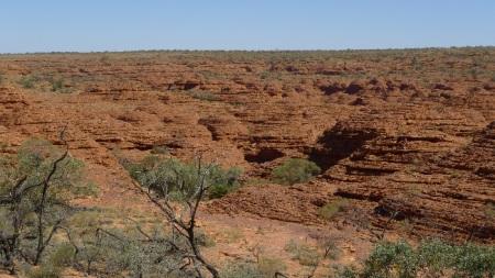 Formaciones lenticulares en Watarka NP