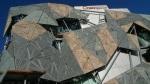 La extrañas fachadas de Federation square