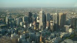 Melbourne a vista de pajaro