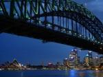 La ópera bajo el puente de la bahía de Sidney