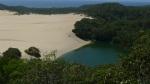 Fraser Island, lagunas interiores y dunas.