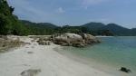 Pulau Pangkor. Playa de Nueva Verneda