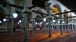 Al azar interior de la mezquita